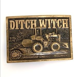 Ditch Witch Trencher Operator Belt Buckle